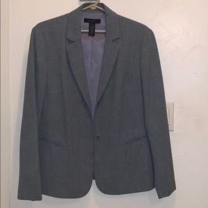 Grey blazer by the limited (stretch)